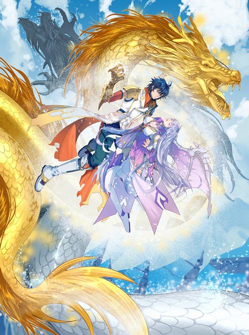 《斗罗十年-龙王传说》游戏原画-古月娜离世.png