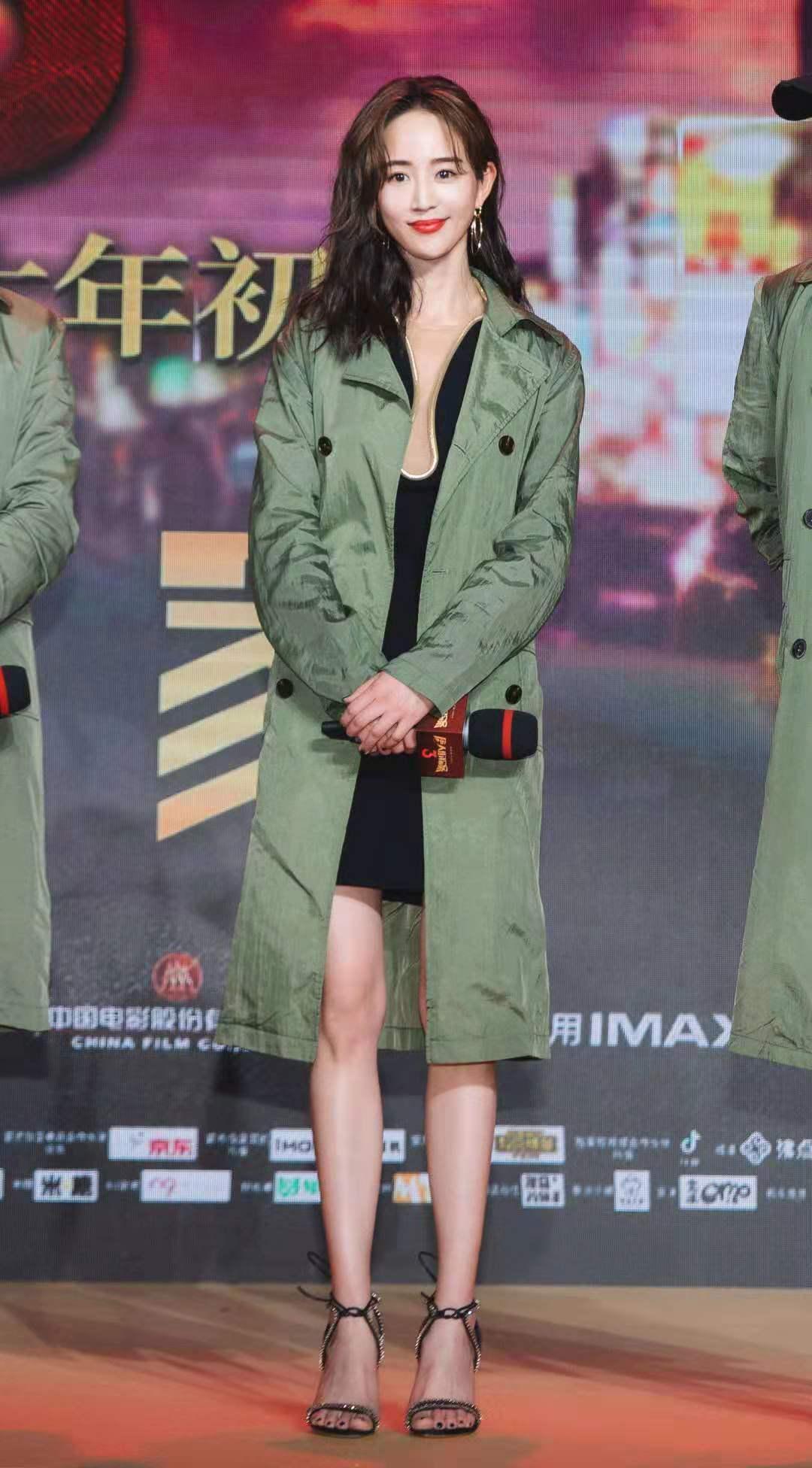 电影《唐人街探案3》发布会 张钧甯身段曼妙气质惊艳