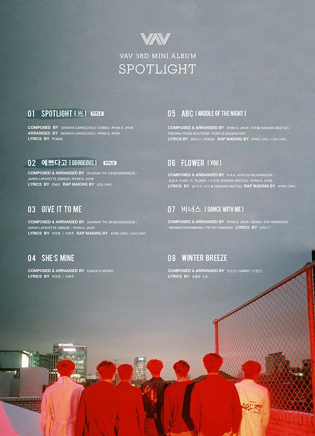 男团VAV第三张专辑SPOTLIGHT完整曲目公开.jpg