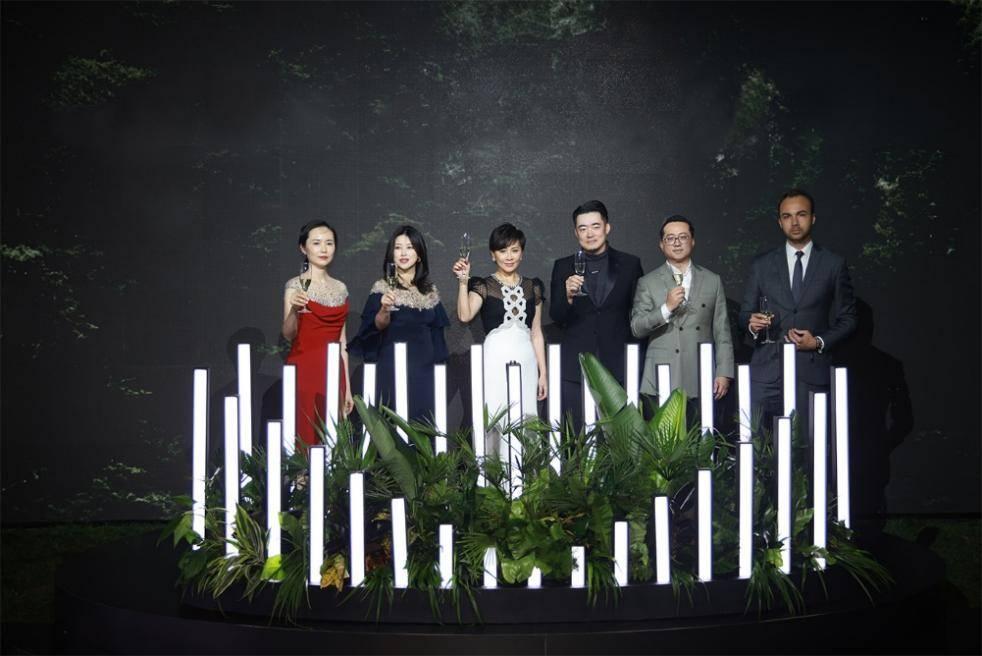 国际影后刘嘉玲、演员朱珠齐聚缦合·北京,缦园大秀星光熠熠