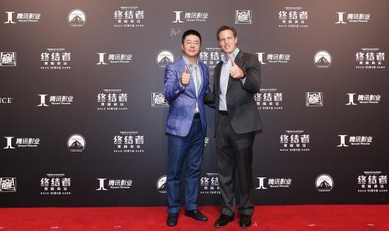腾讯集团副总裁、腾讯影业首席执行官程武与SKYDANCE CEO大卫•埃里森.jpg