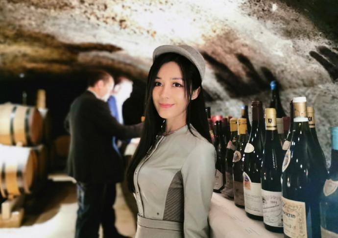 汤晶媚出席世界顶级红酒活动.jpg