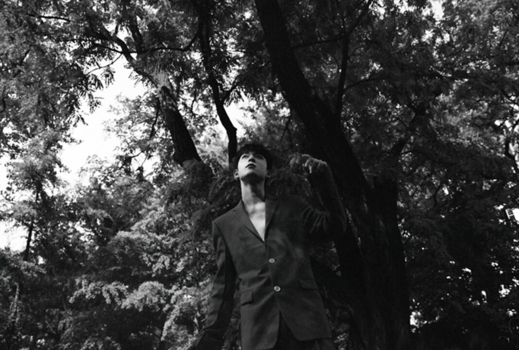 吴宇恒花园胶片感大片释出 假日复古感诠释夏日影像